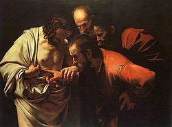 Post 2012 04 08 Thomas by Caravaggio