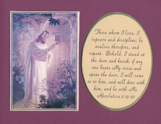Post 2014 08 24 Christ at the door 2