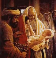Simeon with Jesus b